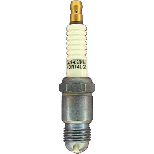 Brisk USA HOR14LGS Premium Racing Spark Plug Thread: 14mm Reach: 12.7mm-1/2 Hexa