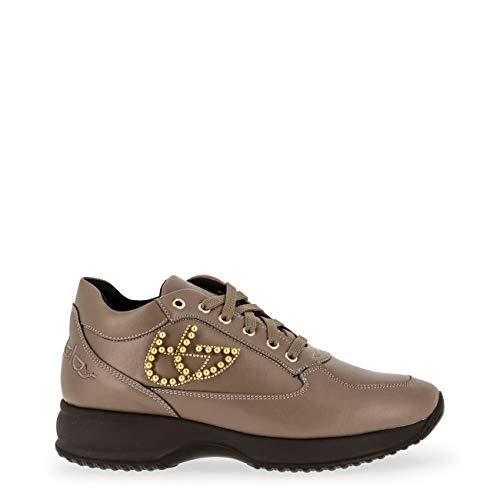 Scarpe Marrone Donna Sneakers Byblos Blu 687001 Basse Z1ZCBa