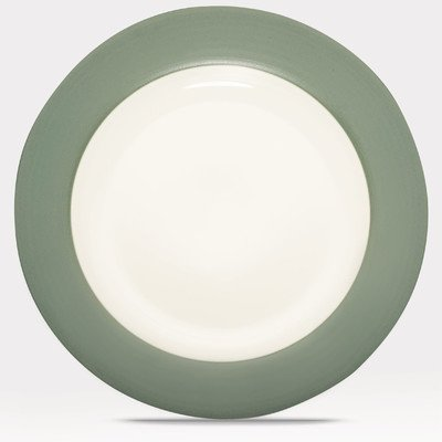 Noritake Green Plate - Noritake Colorwave Green Rim Dinner Plate