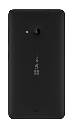 New Housing Battery Back Cover Door Compatible with Nokia lumia 535 (black) - Nokia Lumia 535 Case