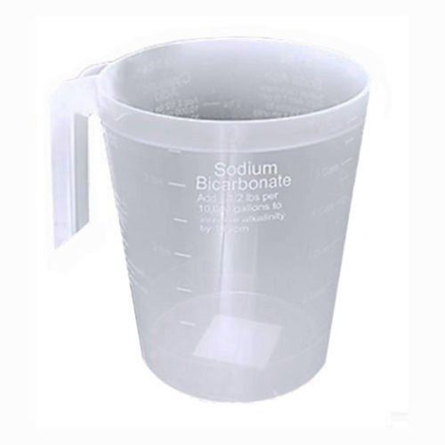 Custom Molded Pool & Spa Chemical-Resistant Measuring Cup