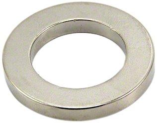 Magnet Expert® 40mm O.D. x 25mm I.D. x 5mm thick Neodymium Magnet - 20kg Pull ( Pack of 1 ) Magnet Expert® SP4025-1