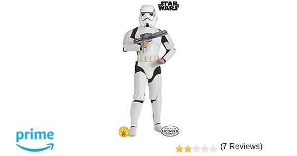 Star Wars - Disfraz de Stormtrooper Deluxe para adulto, Talla única (Rubies 888572)