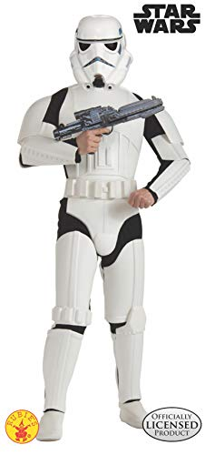 Star Wars Stormtroopers Costumes (Rubie's Costume Star Wars Deluxe Stormtrooper, White, One Size)