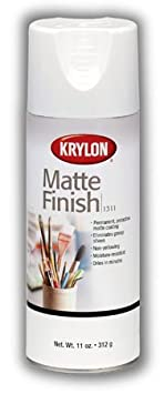 Matte Finish Spray Eliminates Glossy Sheen And Provides Permanent Surface Protection (Pkg/2) by Krylon