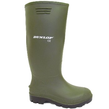 Dunlop - Damen Grüne Gummistiefel