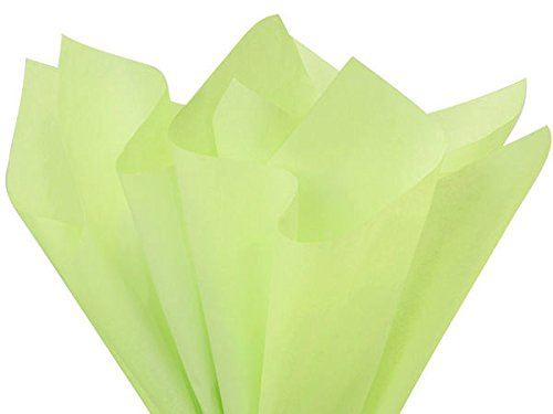 """100 Sheets - Brand New Pistachio Green Bulk Tissue Paper 15"""" x 20"""""""