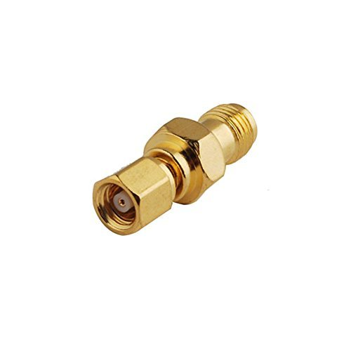 2pcs Rf Wire Terminal Copper Alloy Connector Sma-smc Adapter Sma Female to Smc Plug Straight for Wireless Antenna Ships from USA