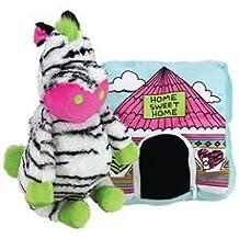 Happy Nappers Zebra Plush Pillow