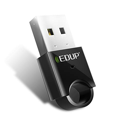 Bluetooth Adapter for PC USB Bluetooth Dongle 4.0 EDR Receiver Wireless Transfer for Laptop Computer Desktop Music, Skype Calls, Keyboard, Mouse,PS4 Xbox One Support Windows 10 8.1 8 7 XP Vista from EDUP HOME