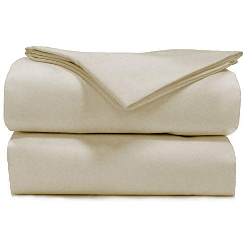 AB Lifestyles | Essentials 200TC Camper Sheet Sets (Ivory) (BUNK 30x75)