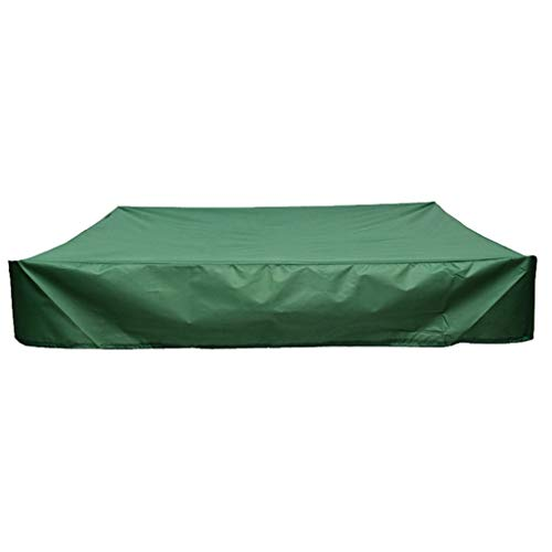 - Samoii Sandbox Cover with Drawstring Waterproof Dustproof Protection Green with Drawstring Sandpit Cover Pool Cover