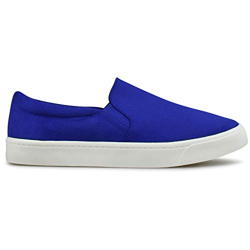 Casual Premier R on Shoe Women's Fashion Electric Easy Everyday Standard Walking Slip Blue r6O6xE4