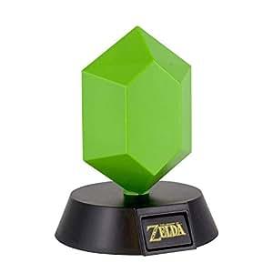 Paladone Lámpara de Mesa 3D The Legend of Zelda - Green Rupee