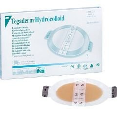Dressing Hydrocolloid 3M Tegasorb THIN - 3M Medical 90021 Tegasorb Thin Hydrocolloid Dressing