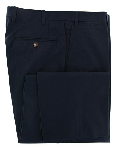 canali-midnight-navy-blue-solid-pants-full-32-48