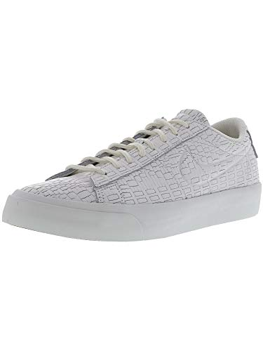 Nike Men's Blazer Studio Low Summit White/Ankle-High Leather Fashion Sneaker - 9.5M