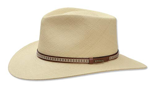 Genuine Panama Hat - Orvis Men's Walnut Creek Genuine Panama Hat, Natural, Large