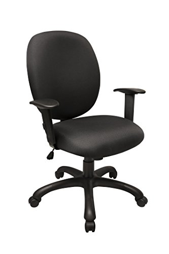 Chair Macro Fabric - Marco Group 815 Rolling Task Chair, Charcoal Fabric