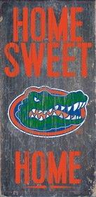 Florida Gators Wood Sign - Home Sweet Home 6x12 ()
