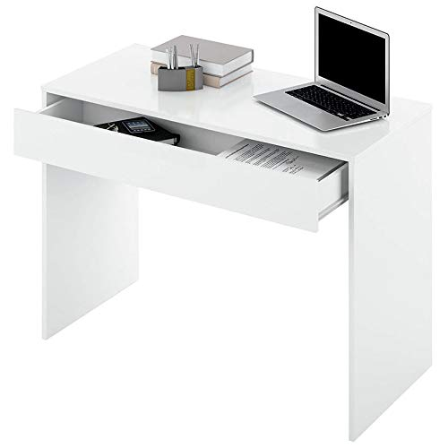 Mesa Estudio Turin 100X50X75 B.Brillo: Amazon.es: Hogar