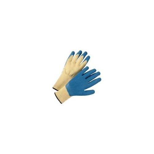 West Chester 700KSLC/XL 10 Gauge Kevlar Knit Shell, Blue Latex Coated Palm. Dozen