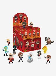 Disney Pixar INCREDIBLES 2 Mystery Mini Blind Box Action Figures