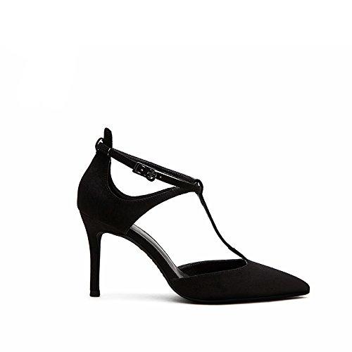 poco alti FLYRCX scarpe ammenda a profonda tacchi bocca lavoro Onorevoli partito sexy sandali personalità scarpa tacco da rHqIBx8Onq