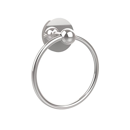 Allied Brass 1016-PC Skyline Collection Towel Ring, Polished Chrome by Allied Brass