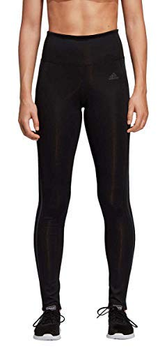 adidas Womens 3 Stripe Active Tights Black/Carbon X-Large by adidas