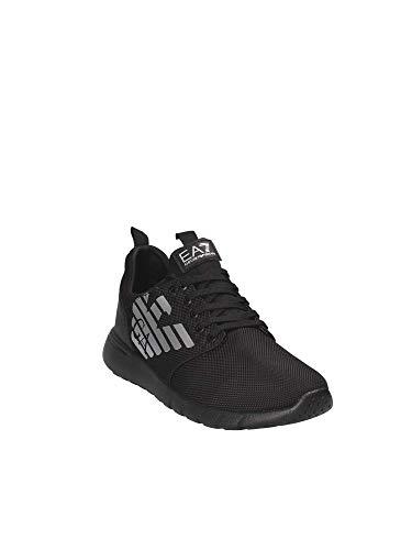 42 X8x008 Armani 2 Ea7 Xk008 Noir 5x8qwaxtz Sneakers Man Emporio vTRxqI
