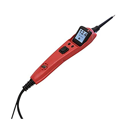 POWER PROBE IIIS Clamshell - Red (PP3S01CS) [Car Automotive Diagnostic Test  Tool, Digital Volt Meter, AC/DC Current Resistance, Circuit Tester]