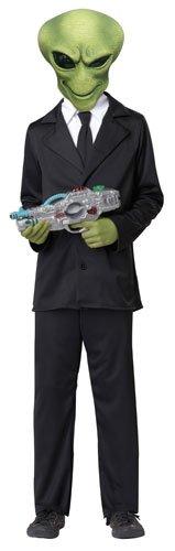 California Costumes Alien Agent Child Costume, (Child Alien Costume)