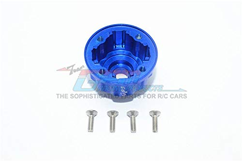 GPM Traxxas E-Revo 2.0 VXL Brushless (86086-4) Upgrade Parts Aluminum Front / Center / Rear Diff Case - 1Pc Set Blue
