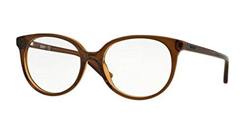DKNY DY4666 Eyeglass Frames 3675-53 - Brown