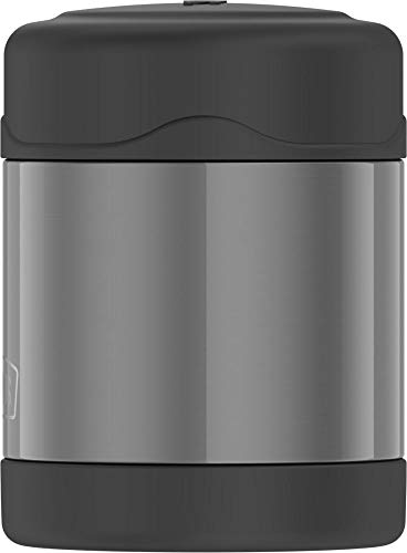 Thermos Funtainer 10 Ounce Food Jar, Charcoal