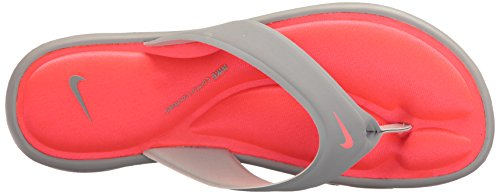 Nike Punch Grey Hyper Comfort Ultra Women's Wolf Wolf Thong Grey Sandal OFHOwq