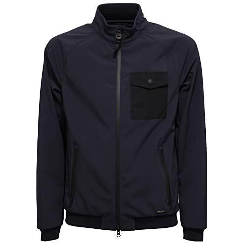 Bomber Men Blue Jacket Woolrich Uomo Blu Giubbotto 9834w waHOqvU