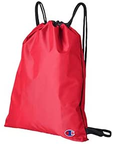 Core Drawstring Backpack -RED//Black CA1000 OS