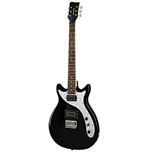 first act me445 designer double cutaway electric guitar musical instruments. Black Bedroom Furniture Sets. Home Design Ideas