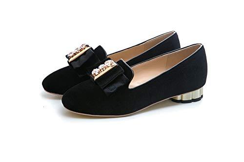 5 AdeeSu SDC06068 EU Compensées Noir Sandales Noir 36 Femme rrg0q
