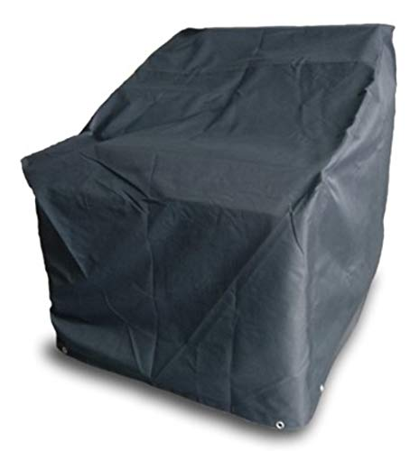 Quality Outdoor Living 65-AZCC-1 Patio Deep Seating Chair Furniture Cover Outdoor, Navy Blue