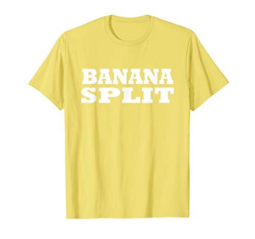 Banana Split Food Halloween Last Minute Costume Party -