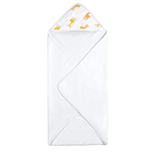 Aden by Aden + Anais Hooded Towel, Safari-Babes- (Safari Washcloth)