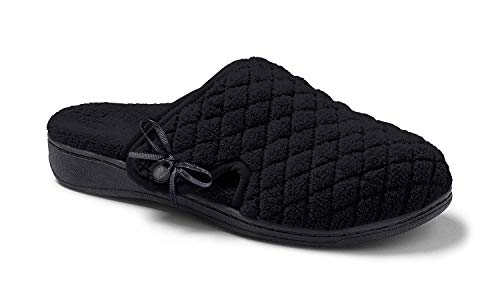 Vionic Adilyn Women's Orthotic Support Slippers Black - 8 (Slippers Mules)
