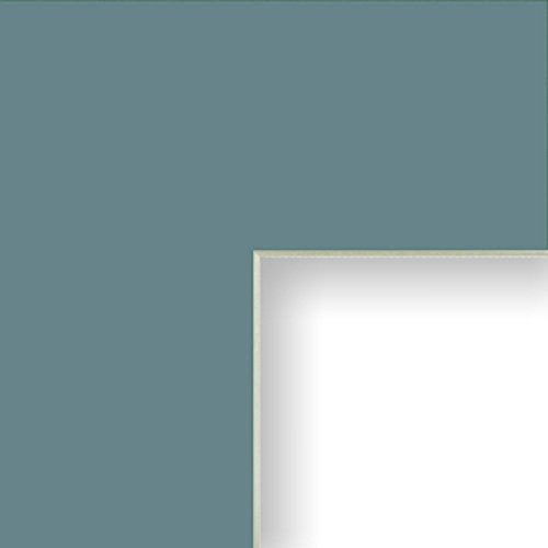 (Craig Frames B248 16x20-Inch Mat, Single Opening for 11x14-Inch Image, Sea Green with Cream Core)