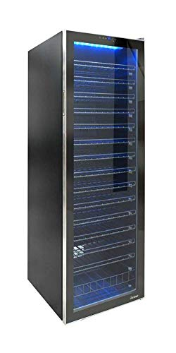 Vinotemp VNTVT-165TSRV 165-Bottle Single Zone Freestanding Wine Cooler