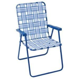 Rio Creations Blue Step Up Web (Woven Back Chairs)