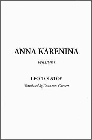 Anna Karenina Volume 1 Leo Tolstoy 9781588276018 Amazon Books