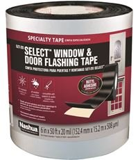 NASHUA TAPE 6 in. x 50 ft. Select Window and Door Flashing Tape